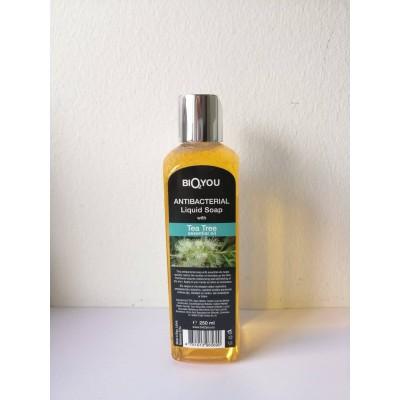 Antibacterial Liquid Soap with Tea Tree essential oil