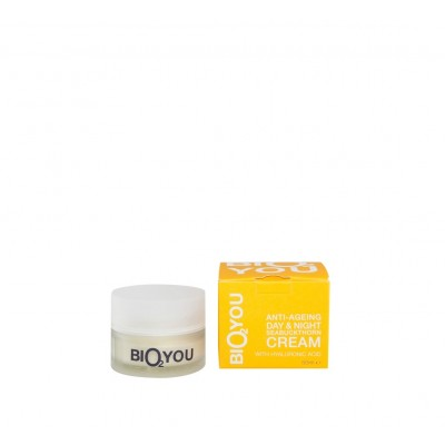 Anti-Ageing Day & Night Seabuckthorn Cream With Hyaloronic Acid, 50ml