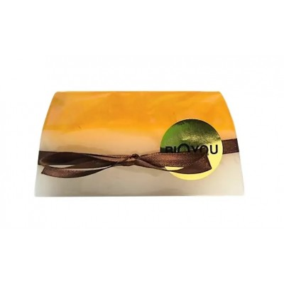 Natural Seabuckthorn Soap with Goat Milk & Amber, 100 g