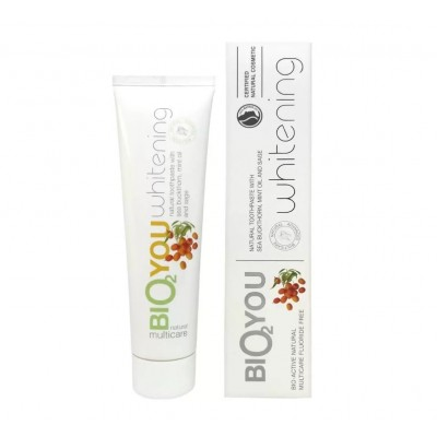 Natural Whitening toothpaste with Seabuckthorn, Mint oil and Sage 100ml